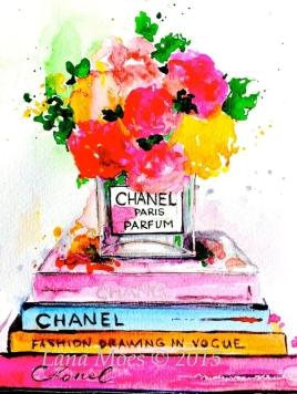 LanasArt.FashionLoveArt.Watercolor