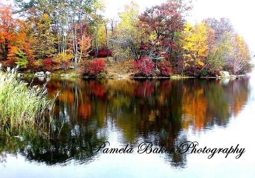 autumn-scene-bear-mt-lake-watermarked