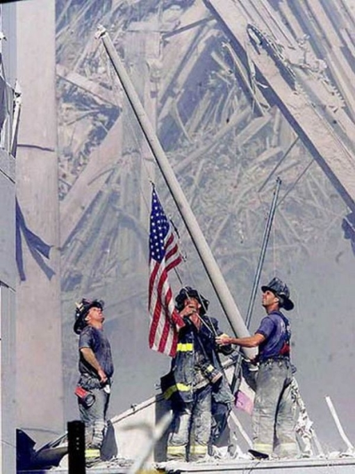 sept-11-raising-flag