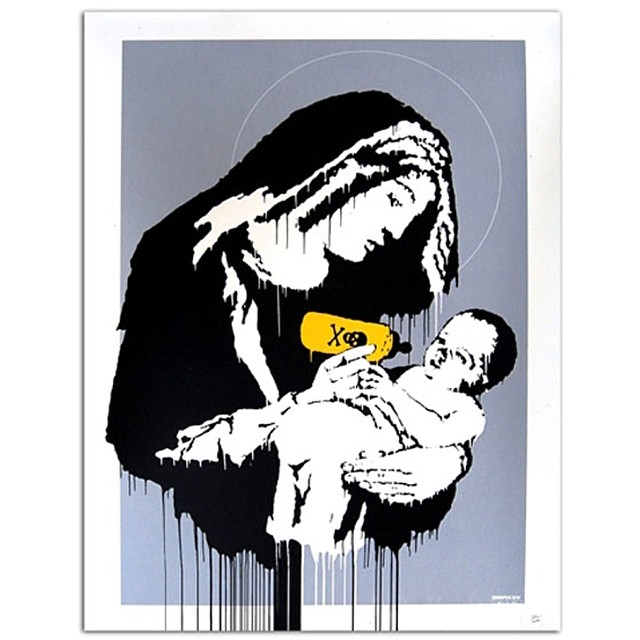 Banksy.Mothers Day 5.11.14