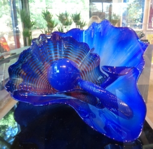 Chihuly.Blue Flower.GiftShop