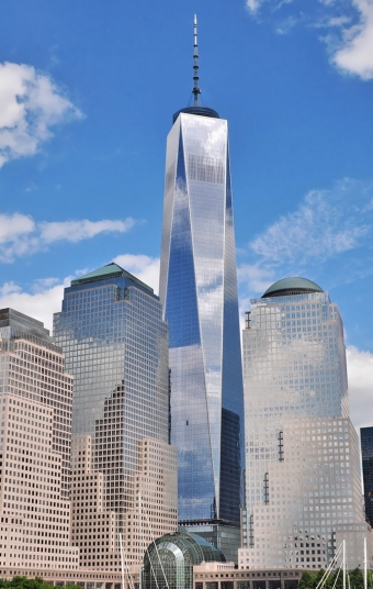 OneWorldTradeCenter.Reflection of Clouds
