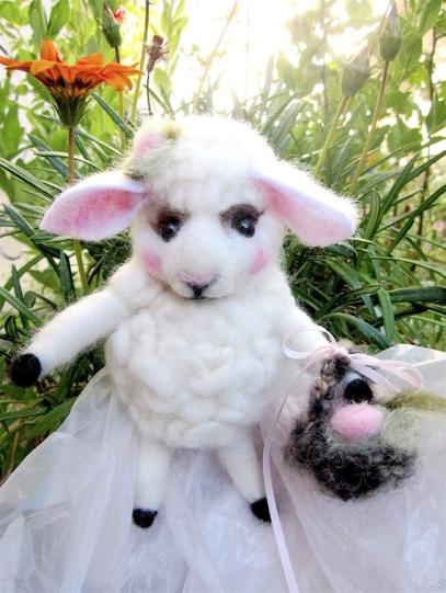 Easter.RabbitWhiskers.FeltedSheep 3.8.18