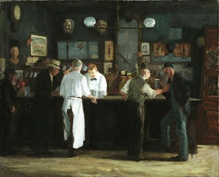 McSorleys.Painting 1912-McSorley's_Bar.JohnSolan.artist